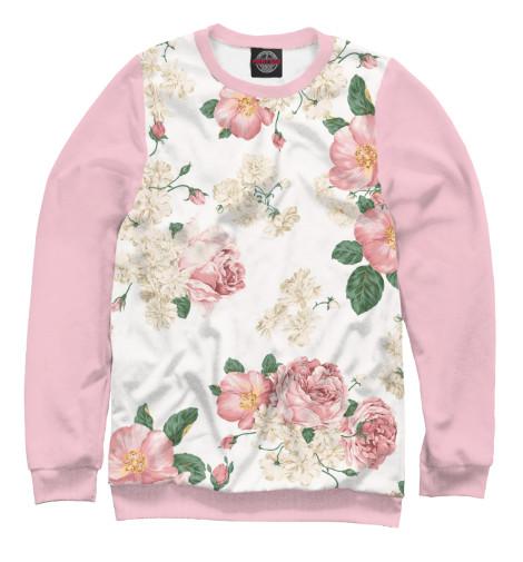 Купить Свитшот для девочек Цветы CVE-869690-swi-1
