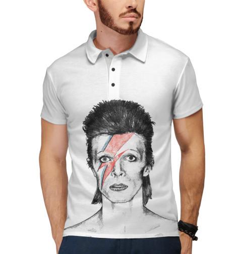 Поло Print Bar David Bowie цена и фото