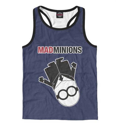 Майка борцовка Print Bar Mad Minions