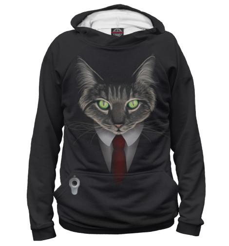 Купить Худи для девочки Cat Hitman APD-113434-hud-1