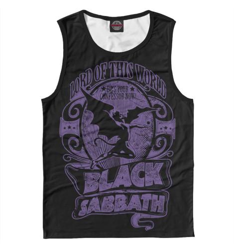 Майка Print Bar Black Sabbath майка print bar black sabbath