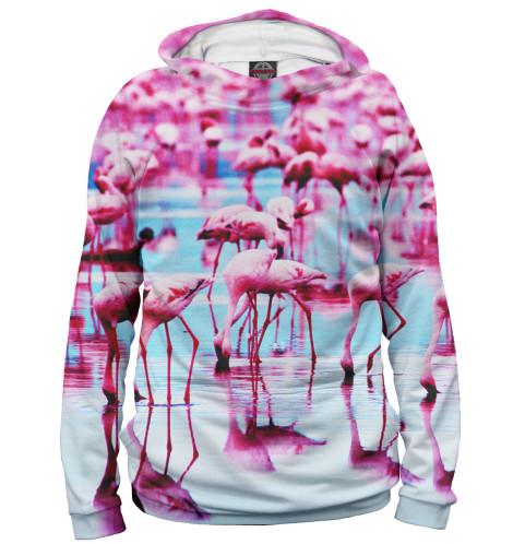 Худи Print Bar Розовые фламинго худи print bar cs go asiimov black