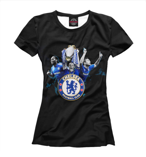 Купить Футболка для девочек FC Chelsea CHL-772061-fut-1