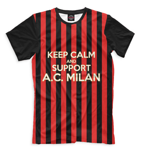 Мужская футболка AC Milan