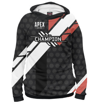 Мужское худи Apex legends we are the champion
