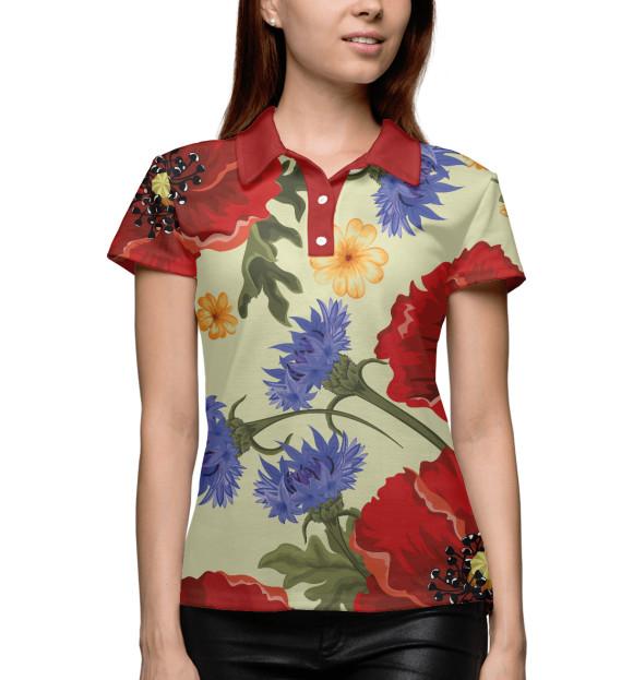 Купить Женское поло Summer Flower CVE-207579-pol-1