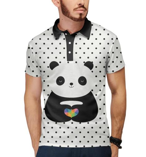 Поло Print Bar Любовь панды майка print bar любовь панды