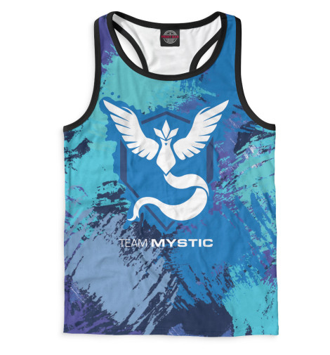 Майка борцовка Print Bar Team Mystic майка print bar pokemon go valor team