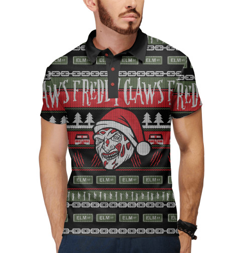 Поло Print Bar Freddy Christmas поло print bar freddy fnaf