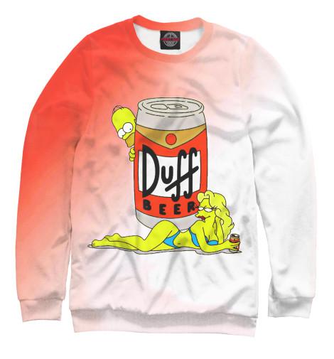 Свитшот Print Bar Duff Beer поло print bar duff beer