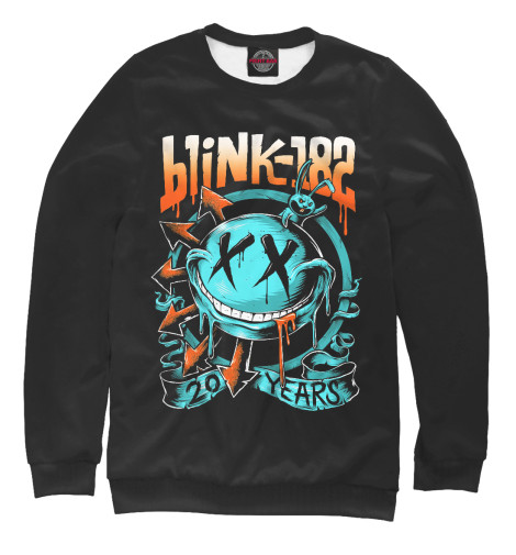 Свитшот Print Bar Blink-182 свитшот print bar blink 182