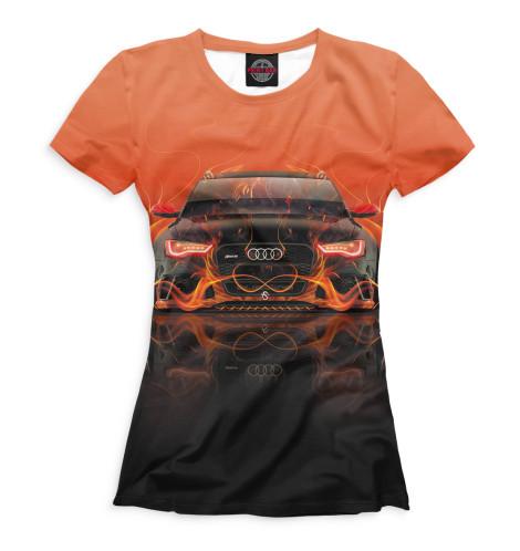 Женская футболка Audi RS6