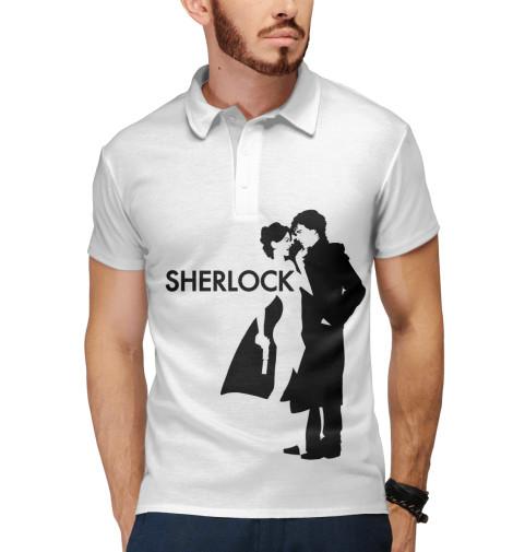 Поло Print Bar Шерлок - Sherlock детская футболка классическая унисекс printio шерлок холмс sherlock holmes