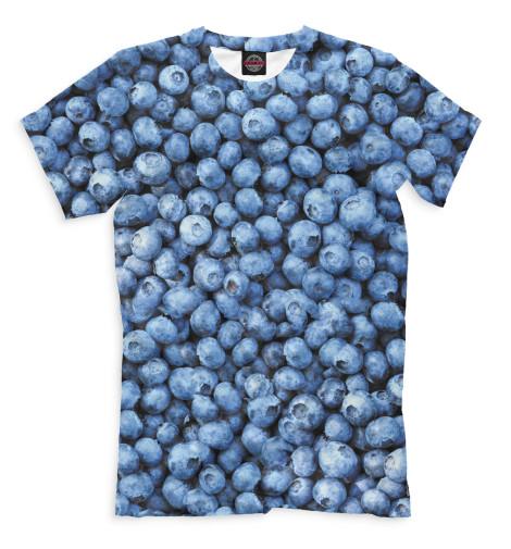 Мужская футболка Голубика