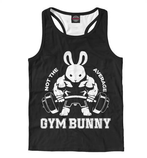 Майка борцовка Print Bar Gym Bunny майка борцовка print bar drogos gym