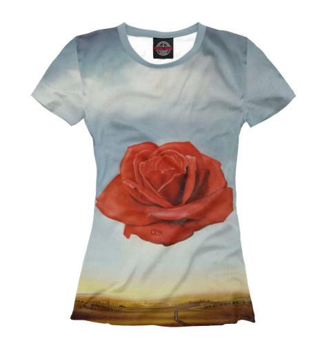 Футболка Print Bar Медитативная роза футболка print bar роза