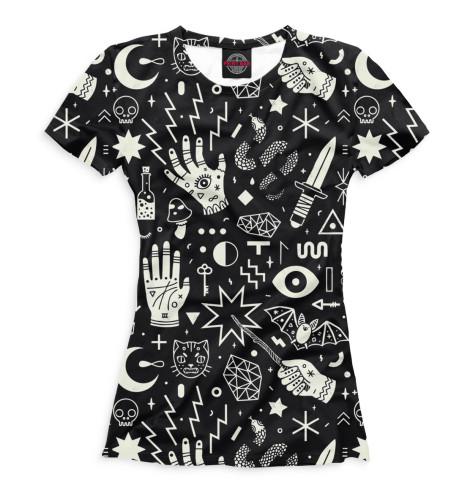 Женская футболка Колдовство