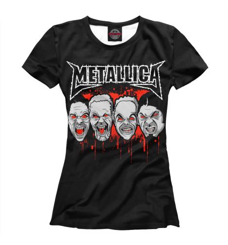 Футболка Print Bar Metallica Zombies metallica metallica monsters of rock broadcast moscow russia 1991