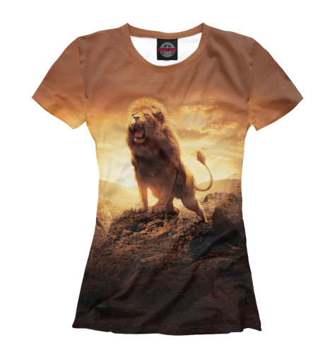 Футболка Print Bar Savannah Lion футболка print bar lion