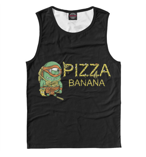 Майка Print Bar Pizza Banana свитшот print bar flash pizza