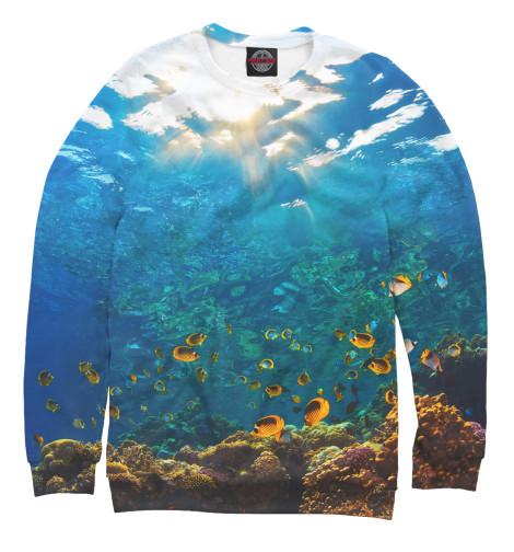 Женский свитшот Коралловый риф