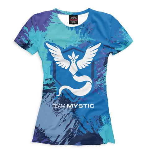Купить Футболка для девочек Team Mystic PKM-278999-fut-1