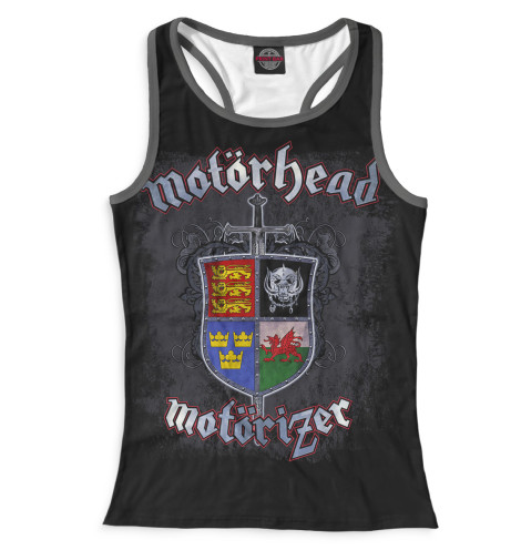 Женская майка-борцовка Motorhead