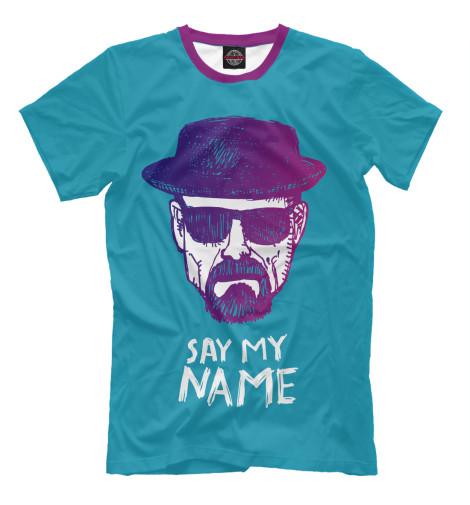 Футболка Print Bar Say my Name my name is leon