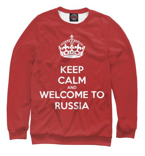 цена на Свитшот Print Bar Welcome to Russia