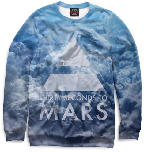 Мужской свитшот 30 Seconds to Mars