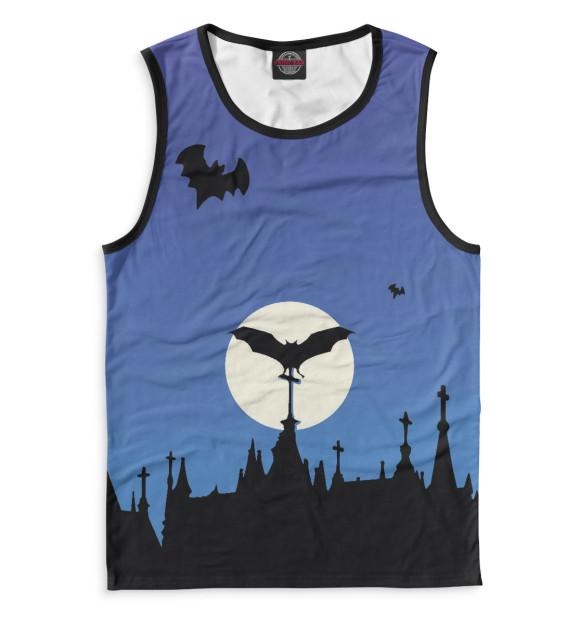 Купить Мужская майка Halloween HAL-301129-may-2