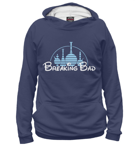 Худи Print Bar Breaking Disney футболка рингер printio breaking disney