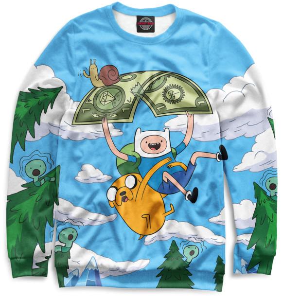 Купить Мужской свитшот Adventure Time ADV-871202-swi-2