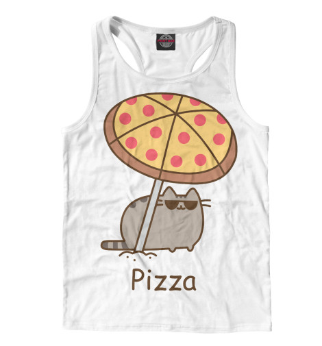 Майка борцовка Print Bar Pizza свитшот print bar flash pizza