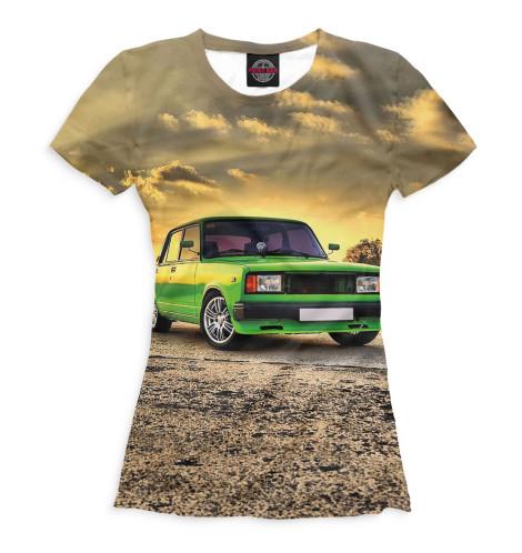 Женская футболка LADA