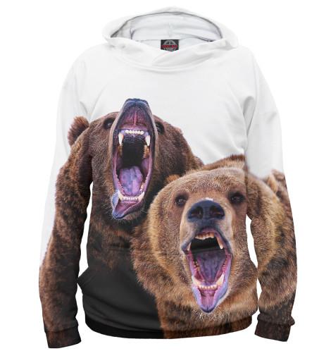 Мужское худи Медведи
