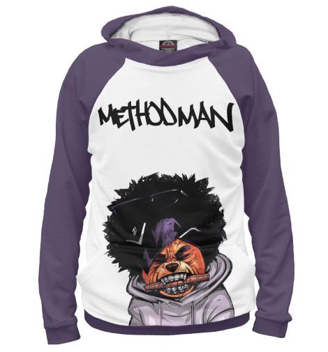 Фото - Женское худи Method Man от Print Bar белого цвета
