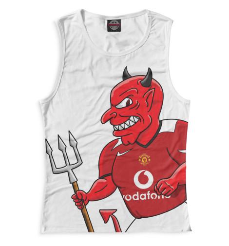 Женская майка Manchester United Красный дьявол Print Bar MAN-937444-may-1