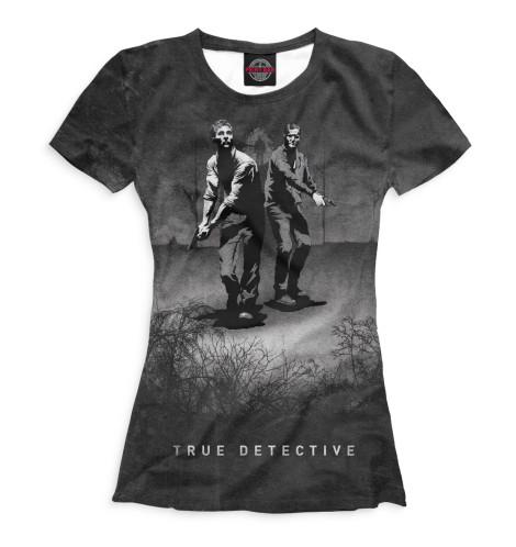 Женская футболка Настоящий детектив