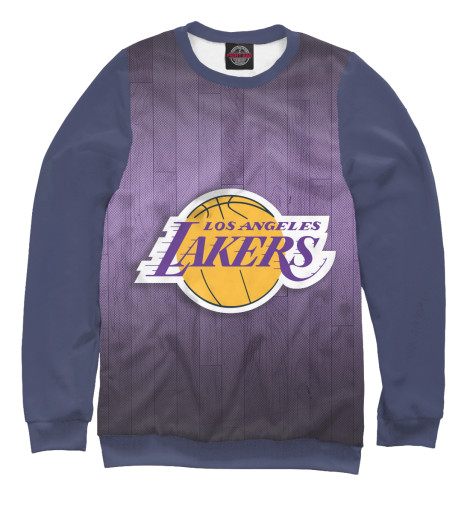 Свитшот Print Bar Los Angeles Lakers баскетбольную форму lakers