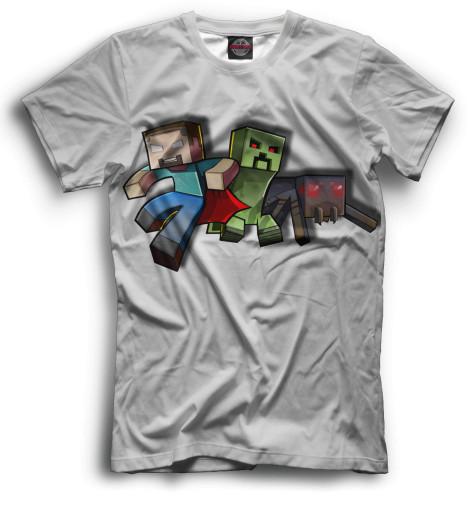 Купить Мужская футболка Minecraft MCR-710167-fut-2