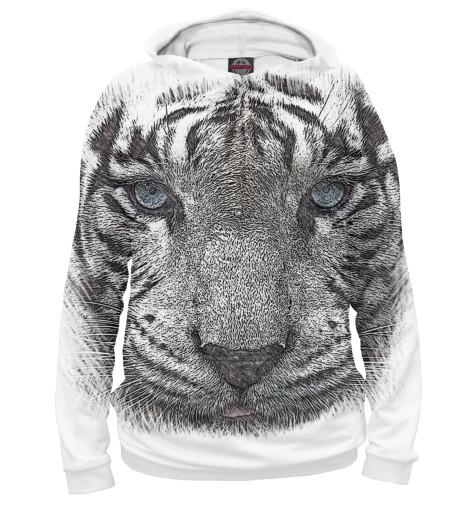 Худи Print Bar Белый тигр футболка print bar белый тигр
