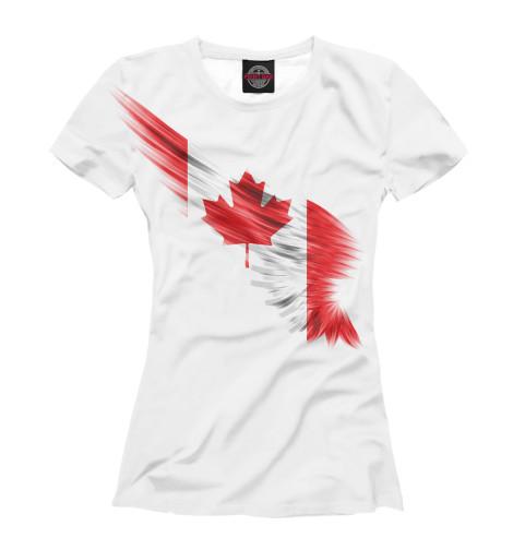 Футболка Print Bar Свободная Канада восточная канада