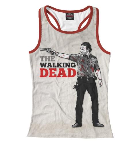 Майка борцовка Print Bar The Walking Dead майка print bar the walking dead