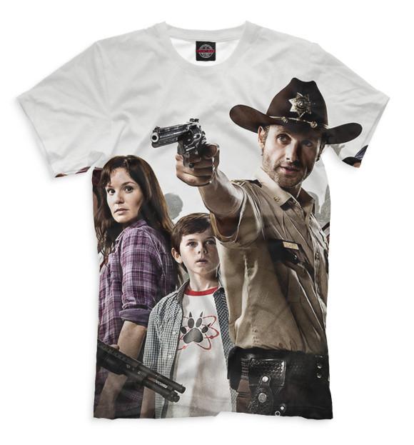 Купить Мужская футболка Ходячие мертвецы HOD-612940-fut-2