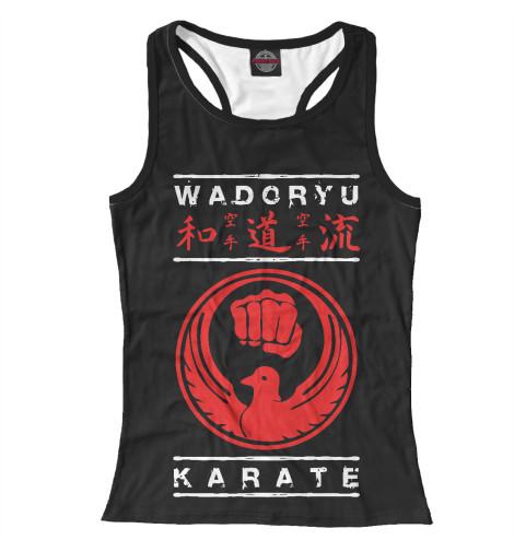 Майка борцовка Print Bar Wadoryu Karate karate kata applications