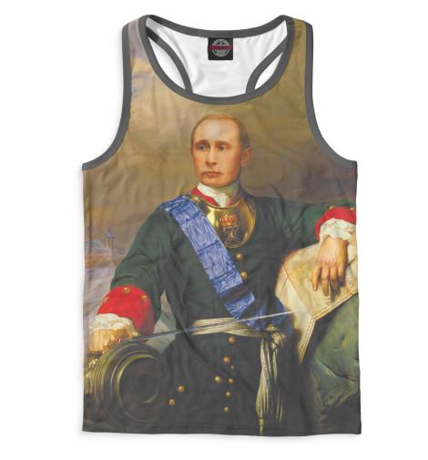 Мужская майка-борцовка Путин