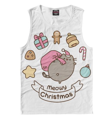 Майка Print Bar Pusheen Christmas kawaii pusheen cat brinquedos 15cm 23cm donuts cupcake sushi