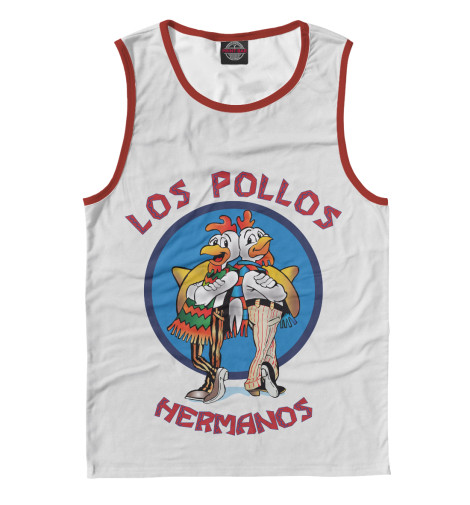 Майка Print Bar Los Pollos Hermanos чехол для iphone 6 глянцевый printio los pollos hermanos breaking bad