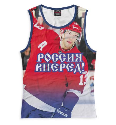 Женская майка Дацюк - Россия вперед! Print Bar HOK-847713-may-1